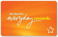 Woolworths Everyday Rewards card