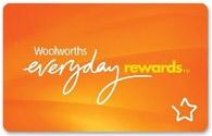 Woolworths Everyday Rewards card