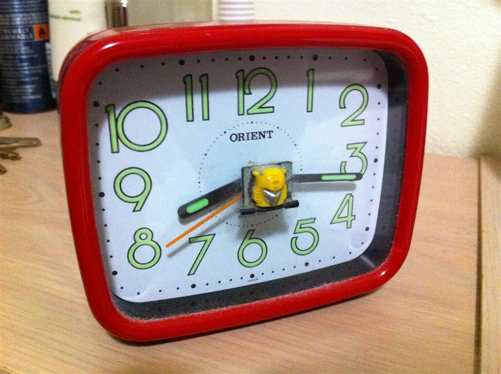 My red clock